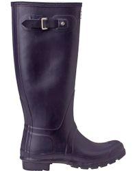 Hunter - Original Wellington Rain Boot Purple - Lyst