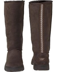 Ugg | Brown Ultimate Tall Chocolate Suede | Lyst