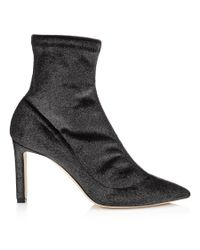 Jimmy Choo | Black Louella 85 | Lyst