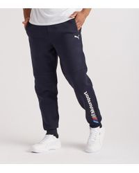 83ac74846b19 PUMA Bmw Mms Sweatpants in Blue for Men - Lyst