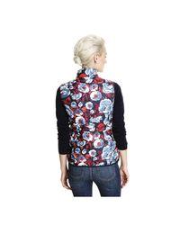 Joe Fresh - Blue Print Puffer Vest - Lyst