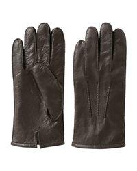 Joe Fresh - Brown Men's Leather Gloves for Men - Lyst