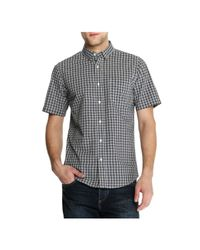 Joe Fresh - Black Men's Plaid Shirt for Men - Lyst