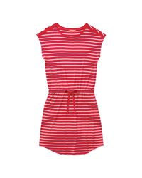 Joe Fresh - Pink Stripe Drawstring Dress - Lyst