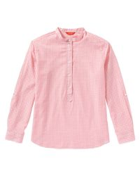 Joe Fresh - Pink Gingham Popover Shirt - Lyst