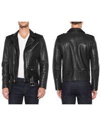 Joe's Jeans | Black Lukas Leather Jacket for Men | Lyst