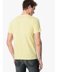Joe's Jeans - Yellow Finley Crew for Men - Lyst