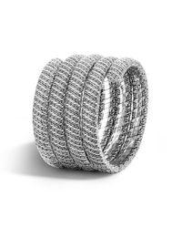 John Hardy | Metallic Classic Chain Multiple Coil Bracelet | Lyst