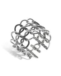 John Hardy - Metallic Classic Chain Round Link Extra Wide 57mm Bracelet - Lyst
