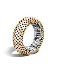 John Hardy - Metallic Cuff Bracelet - Lyst