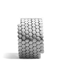 John Hardy - Metallic Multiple Coil Bracelet - Lyst