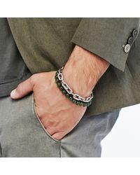 John Hardy - Green Classic Chain Wrap Bracelet With Nephrite Jade for Men - Lyst