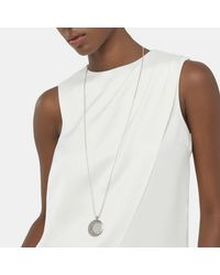 John Hardy - Multicolor Moon Phase Hammered Pendant Necklace - Lyst