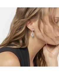 John Hardy - Multicolor Naga Drop Earring With Diamonds - Lyst