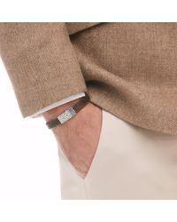 John Hardy - Brown Classic Chain Station Bracelet for Men - Lyst