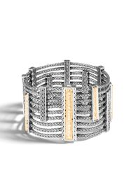 John Hardy | Multicolor Heritage Multi Row Bracelet | Lyst