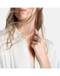 John Hardy - Blue Celestial Orb Ring With Amazonite - Lyst