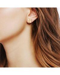 John Hardy - Metallic Modern Chain Stud Earring - Lyst