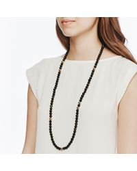 John Hardy | Multicolor Bead Necklace With Golden Sheen Obsidian | Lyst