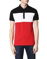 1e0f9797 DIESEL T-day Polo Shirt for Men - Lyst