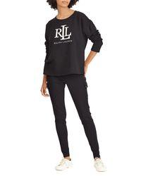 Ralph Lauren - Black Kylene Sweatshirt - Lyst