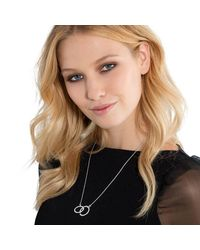 Thomas Sabo - Metallic Glam & Soul Together Forever Necklace - Lyst