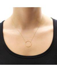 Dogeared - Metallic Medium Sparkle Karma Necklace - Lyst