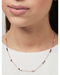 Ted Baker - Multicolor Faye Mini Faceted Bow Collar Necklace - Lyst