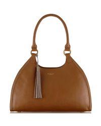 b90bffa5285c Radley Ormond Large Leather Tote Bag in Brown - Lyst