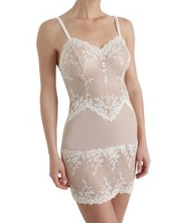 Wacoal   Natural Embrace Lace Chemise   Lyst