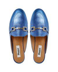 Dune - Blue Guru Casual Loafers - Lyst