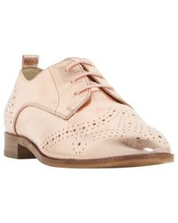 Dune | Multicolor Foster Lace Up Leather Brogues | Lyst