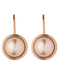 Dyrberg/Kern - Multicolor Dyrberg/kern French Hook Faux Pearl Drop Earrings - Lyst