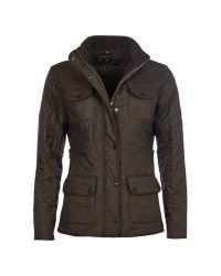 Barbour   Green Utility Polarquilt Jacket   Lyst
