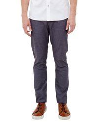 Ted Baker | Gray T For Tall Shirett Slim Fit Trousers for Men | Lyst