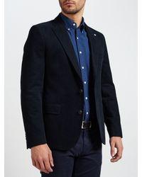 GANT - Blue Casual Twill Blazer for Men - Lyst