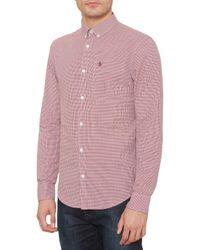 Original Penguin | Multicolor Mini Gingham Long Sleeve Shirt for Men | Lyst