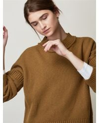 Toast - Multicolor Wool Cotton Easy Jumper - Lyst