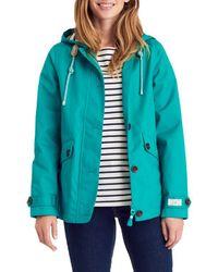 Joules   Multicolor Right As Rain Coast Waterproof Jacket   Lyst