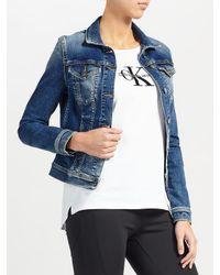 Calvin Klein - Blue Jet Trucker Jacket - Lyst