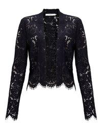 John Lewis - Black Lace Jacket - Lyst