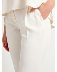 Marella | White Nevada Trousers | Lyst