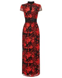 Phase Eight | Red Ella Embellished Dress | Lyst