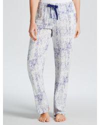 Calvin Klein - Brown Graphic Bonded Skin Print Pyjama Pants - Lyst