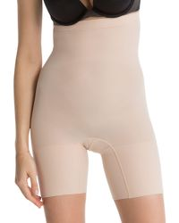 Spanx - Natural New Higher Power Shorts - Lyst