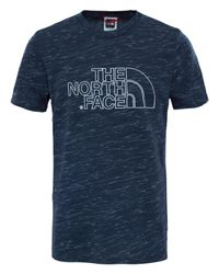 The North Face   Blue Easy Short Sleeve T-shirt for Men   Lyst