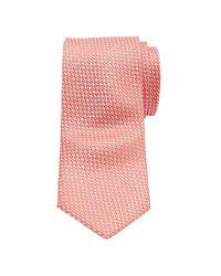 Ted Baker | Pink Leysaa Plain Weave Silk Tie for Men | Lyst
