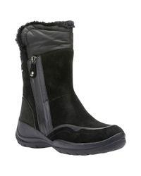 Geox | Black Hellin Amphibiox Hiking Ankle Boots | Lyst