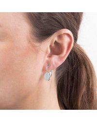 Dyrberg/Kern - Metallic French Hook Earrings - Lyst
