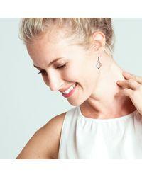 Kit Heath | Metallic Grace Rose Gold Plated Sterling Silver Earrings | Lyst